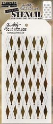 Tim Holtz Layered Stencil - Diamonds
