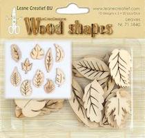 "Leane Wood Shapes ""Leaves"""