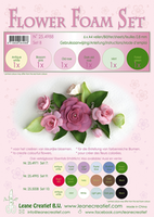 Flower Foam A4 0.8mm - 6 olika färger