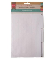 Marianne Design Cardbox Tabs (6pcs)