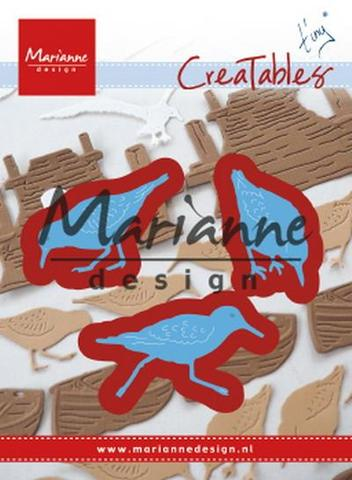 MARIANNE DESIGN CUT / EMB -  Tiny's sand pipers