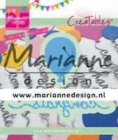 MARIANNE DESIGN CUT / EMB - Congrats & Balloon