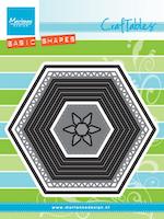 MARIANNE DESIGN - Basic Set: Hexagon