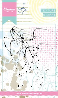 Marianne Design Mixed Media - Texture Stamps: Splatters