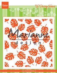 MARIANNE DESIGN EMB. FOLDER - Tropical Leaves