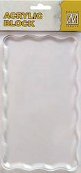 NS Acrylblok 160x90x8mm