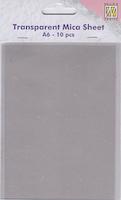 Nellie Snellen Transparenta ark - A6 10 stk