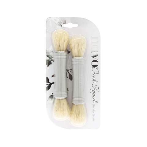 NUVO - Dual Ended Blender Brush - 2 pack