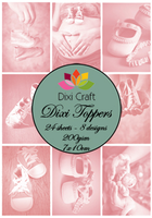 DIXI CRAFT TOPPERS 7X10CM 24 ARK