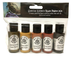 """Cosmic Shimmer Special Effects """"Rust Paint Kit"""" 5x30ml"""
