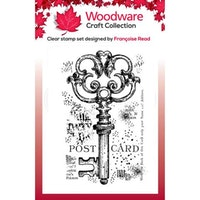 """Woodware Clearstamp """"Old Key"""""""