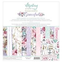 Mintay Paper 12 x 12 - Graceful
