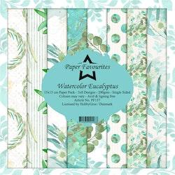 "Paper Favourites Paper Pack ""Watercolor Eucalyptus"""