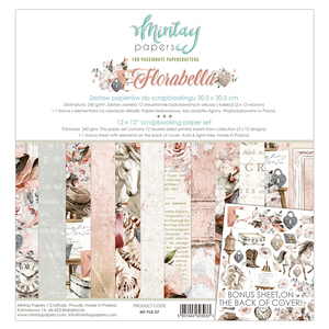 Mintay Papers 12 x 12 - Florabella