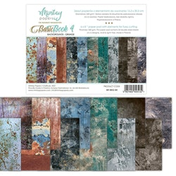 Mintay Papers 6 x 8  Basic Book - backgrounds Grunge