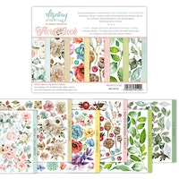 MIntay Papers 6 x 8 Flora Book 1 - Elements for precise ...