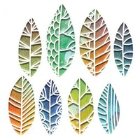 """SIZZIX/TIM HOLTZ THINLITS DIE """"Cut out Leaves"""""""