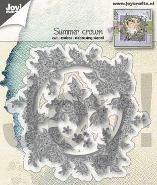 JOY CUT/EMB - Summer Crown