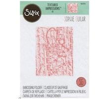 Sizzix Embossingfolders - Vintage Terxture