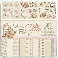 Paper pack - Shabby Chic Bouquet 6 x 6