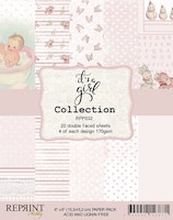 It´s a Girl collection pack 6 x 6