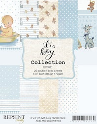 It´s a Boy collection pack 6 x 6