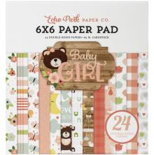 Echo Park Paper Pad 6X6 - Baby Girl