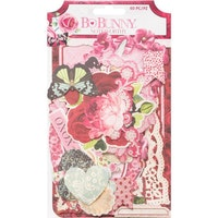 BoBunny Noteworthy Die-Cuts 60/Pkg - Count The Ways