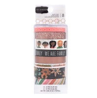 Jen Hadfield Washi Tape 8/Pkg - This Is Family