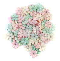 Prima Dulce Mulberry Paper Flowers 120/Pkg - Magical Lights