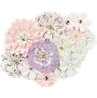 Prima Marketing Poetic Rose Paper Flowers 14/Pkg - ...
