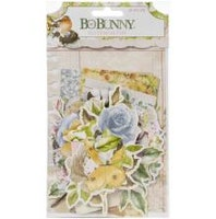 BoBunny Noteworthy Die-Cuts 57/Pkg - Garden Grove