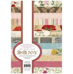 BoBunny  Paper Pad 6X8 36/Pkg - Botanical Journal