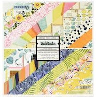 Vicki Boutin Double-Sided Paper Pad 12X12 24/Pkg - Lets ...