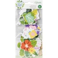 Shimelle Ephemera Die-Cuts 40/Pkg - Never Grow Up Floral