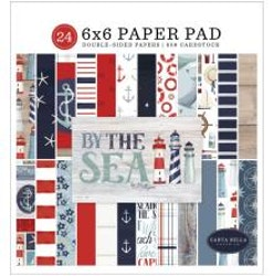 Carta Bella Double-Sided Paper Pad 6X6 - By The Sea