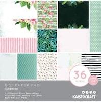 Kaisercraft Paper Pad 6.5X6.5 40/Pkg - Sunkissed