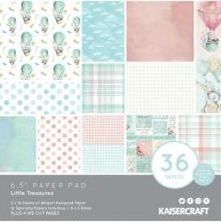 Kaisercraft Paper Pad 6.5X6.5 40/Pkg - Little Treasures