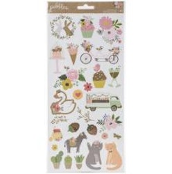Pebbles Stickers 6X12 62/Pkg - Lovely Moments Icons