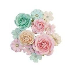 Prima Sugar Cookie Mulberry Paper Flowers 12/Pkg - Pink ...