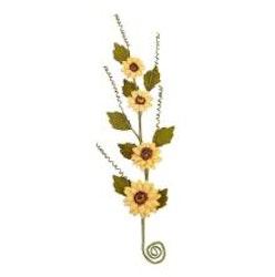 Prima Pumpkin & Spice Mulberry Paper Flowers 1/Pkg - ...