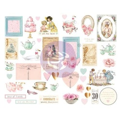 Prima Chipboard Stickers 45/Pkg - With Love By Frank Garcia