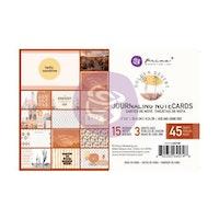 Prima Journaling Cards 4X6 45/Pkg - Golden Desert