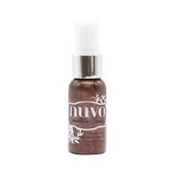 Tonic Studios Nuvo Sparkle Spray - Cocoa Powder 1665N