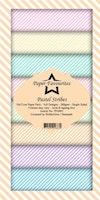 "Paper Favourites Slim Card ""Pastel Stribes"""