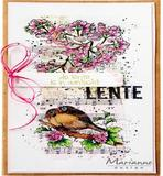Marianne Design Clearstamp - Art Stamps - Song Birds