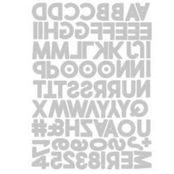 "SIZZIX/TIM HOLTZ THINLITS DIE ""Alphanumeric Bold"""
