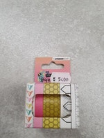 Washi tape, 3 rolls of 5 meter, Create Happiness nr.02