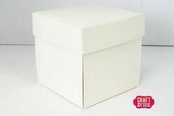 Exploding Box 10x10 cm- 5 pzs creme