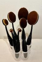 7 st  Blender Brushes  med hållare
